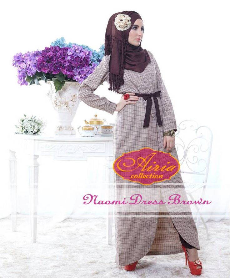 Naomi Brown Gamis Muslim http://gamismodern.org/dress-gamis-muslim-naomi-brown.html