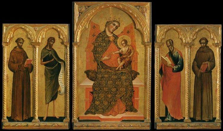 Polyptych, 1354 - Paolo Veneziano