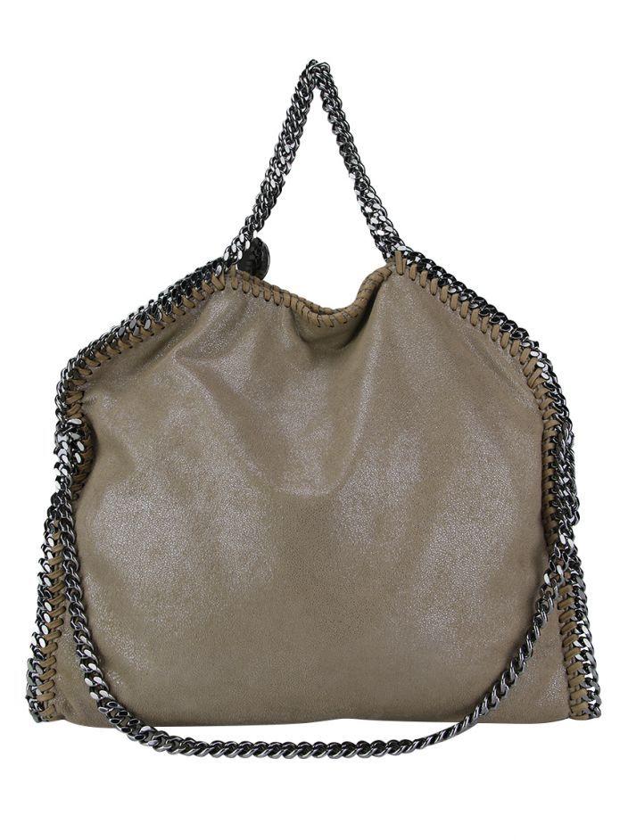 8167789b2 Bolsa Stella McCartney Falabella Nude original confeccionada em couro  sintético. Possui modelagem média molinha,