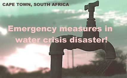 Cape Town - Water Disaster Prayer 14_03_2017