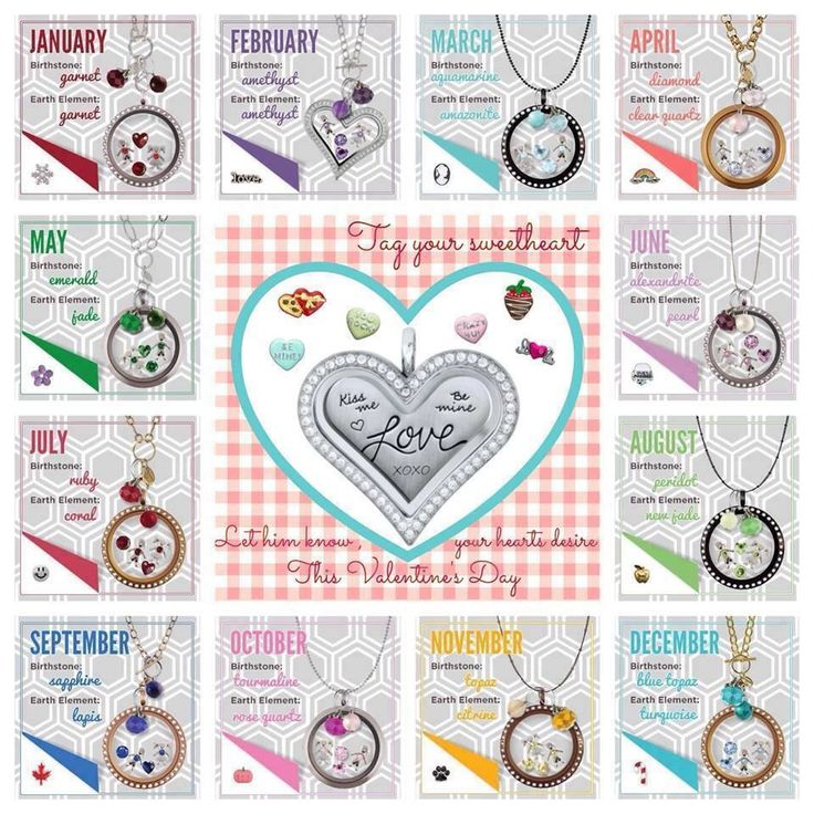 Origami Owl What's your Month and Stone?? Get it here ~~ http://khatfield.origamiowl.com/