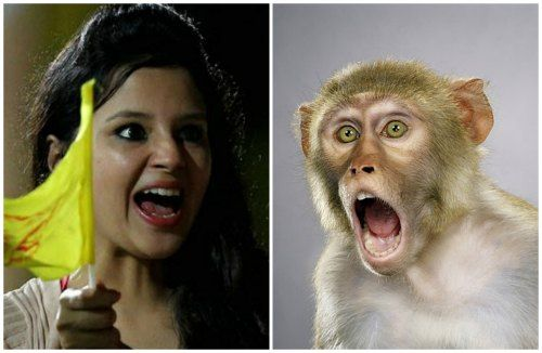 1x1.trans 7 Wild Expression of Sakshi Dhoni in IPL