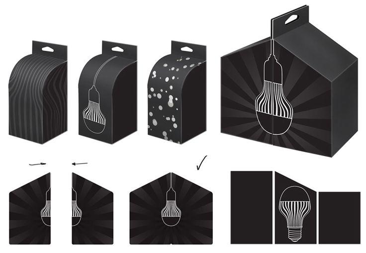 Создание упаковки светодиодных ламп «Оптоган»
