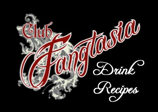Fangtasia Drink Recipes, fun for a True Blood Party and also for Halloween party