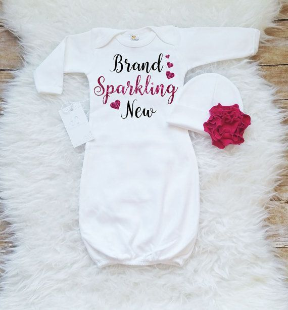newborn girl hospital outfit newborn girl coming home outfit newborn baby girl gown brand sparkling new baby shower gift new baby girl