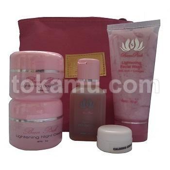 Been Pink, Beauty Series, Paket Pemutih Wajah untuk Kulit Normal