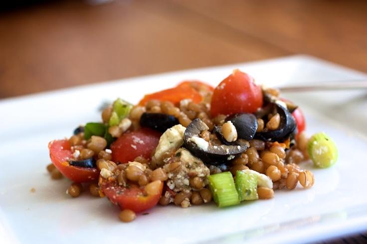 Naturally Ella | Greek Wheat Berry Salad | Page: 1 | Naturally Ella