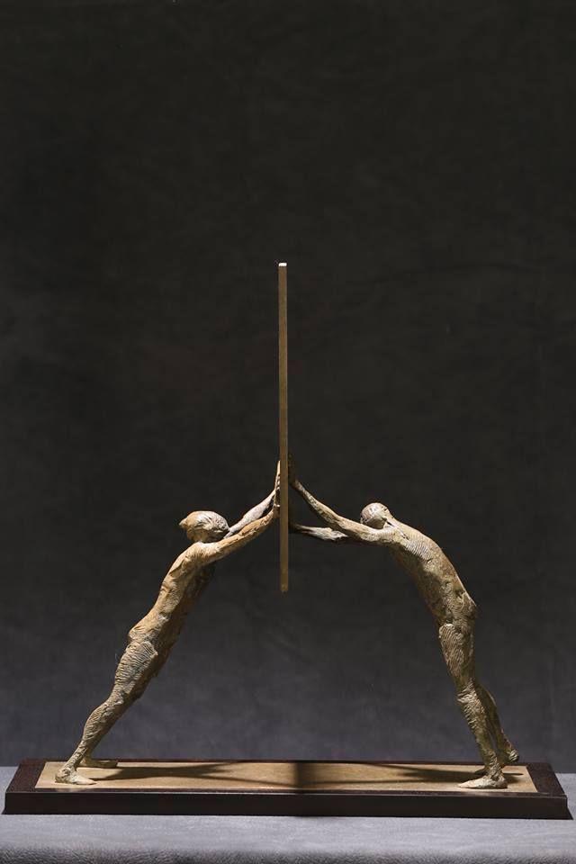 Max Fontana Artista.Max Leiva 1966 Human Sculpture Sculpture Art Pottery Art