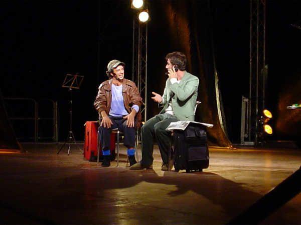 Intervista a Ficarra e Picone prima del loro spettacolo di Palermo - 10/09/2003