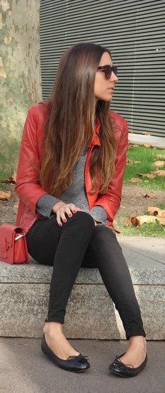 Jaqueta vermelha II.