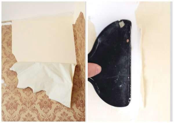 Les 25 meilleures id es de la cat gorie enlever le papier peint sur pinterest supprimer fond d - Enlever de la tapisserie facilement ...