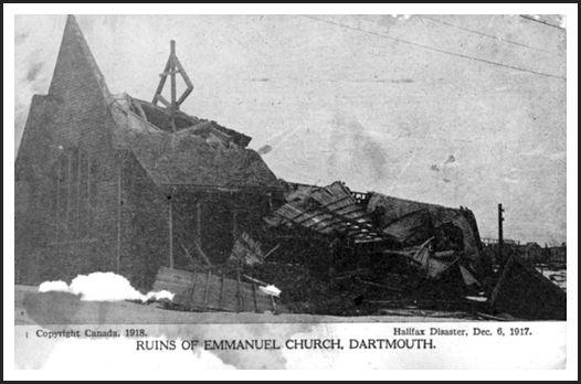 Ruins of Emmanuel chruch, Dartmouth