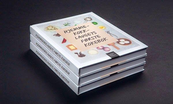 Desain Buku Resep Masakan - The Home Chef Teams First Cookbook oleh Magnus Henriksen