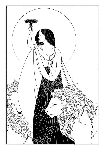 Aubrey Beardsley.  See The Virtual Artist gallery: www.theartistobjective.com/gallery/index
