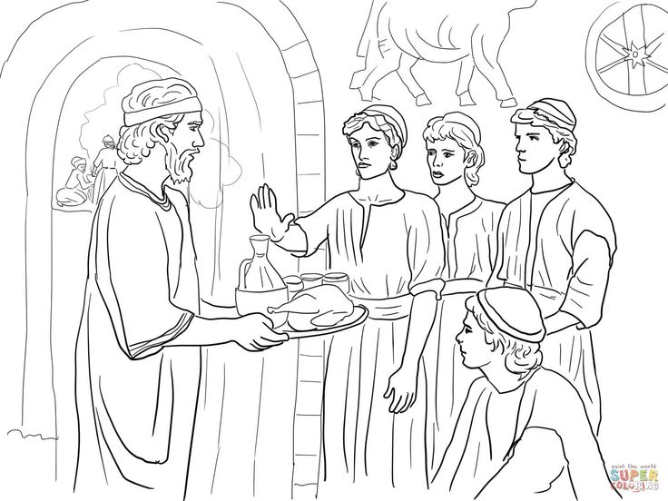 52 best Book of Daniel-Coloring Pages images on Pinterest