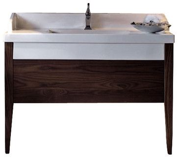"Bentley 3935D Bathroom Vanity Unit with Drawer Unit 47.2"" x 19.7"" - contemporary - Bath Products - Modo Bath"