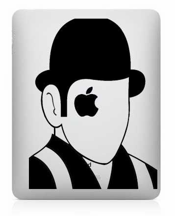 Was an iconic movie of its time and continues to be iconic to this day stamp your personality on your ipad with this clockwork apple decal