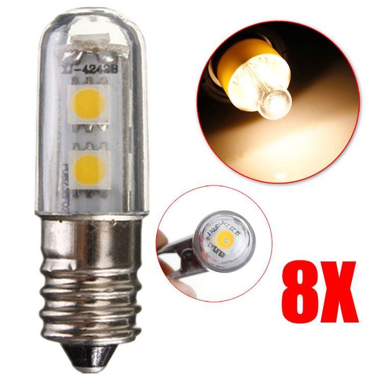 $17.49 (Buy here: https://alitems.com/g/1e8d114494ebda23ff8b16525dc3e8/?i=5&ulp=https%3A%2F%2Fwww.aliexpress.com%2Fitem%2F8pcs-E14-1W-Led-Refrigerator-Bulbs-5050-Warm-White-Colour-Replacement-for-Halogen-Bulb-Energy-Saving%2F32653821994.html ) 8pcs E14 1W Led Refrigerator Bulbs 5050 Warm White Colour Replacement for Halogen Bulb Energy Saving 220V E2shopping for just $17.49