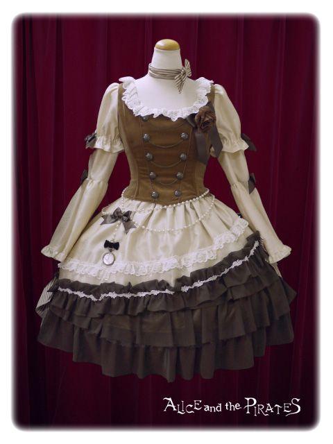 Alice and the Pirates Milky Rail Train Nella dress set 2015