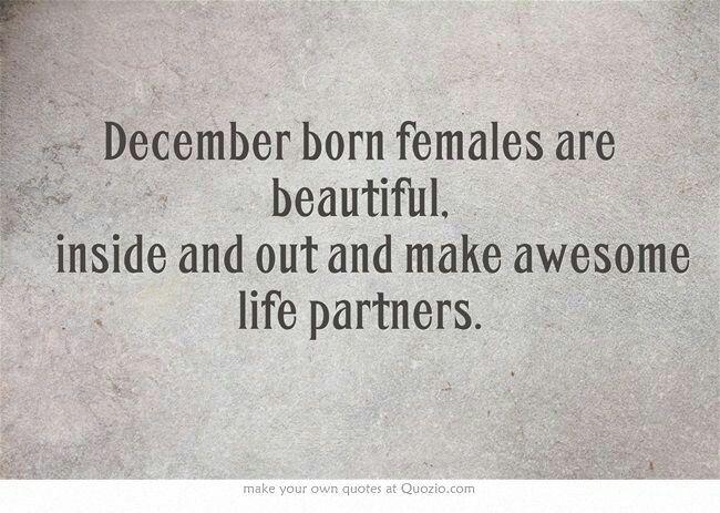 True for December born men too!