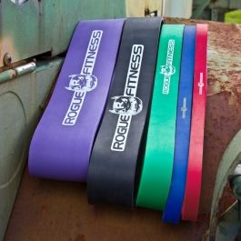 Need some of these to help assist pull up training: Rogue Monster Bands
