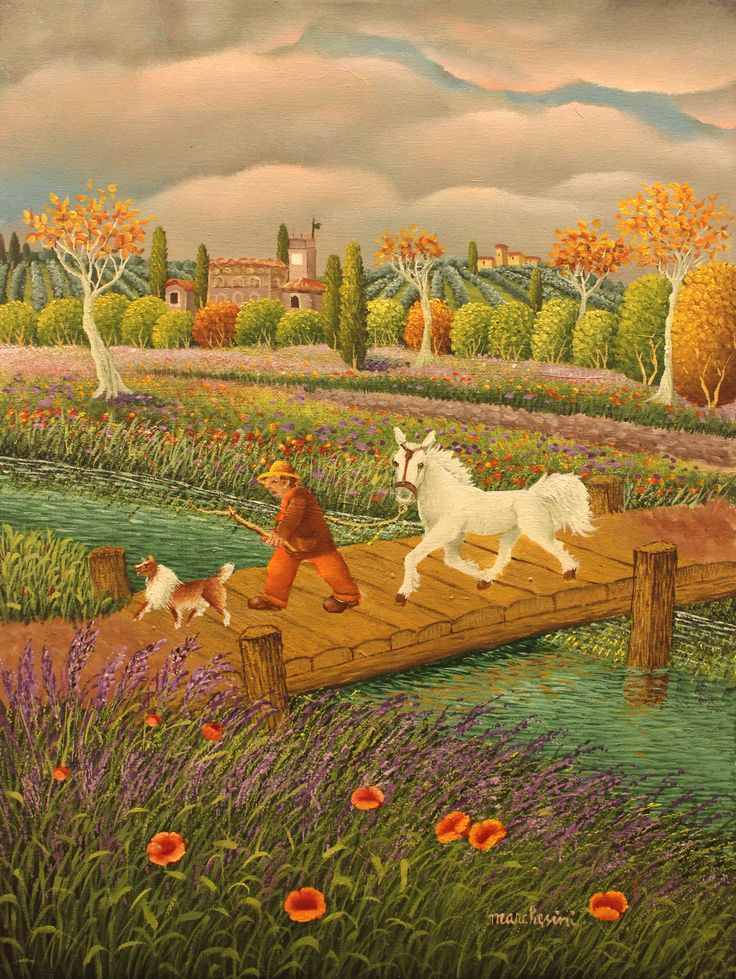 "Cesare Marchesini, ""The White Horse"", 2014, Oil on canvas, 40X30cm"