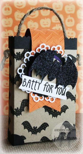 Batty For You Treat Bag
