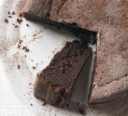 Chocolate & Earl Grey Torte. Anything that involves a tea in it's making... nuff said...