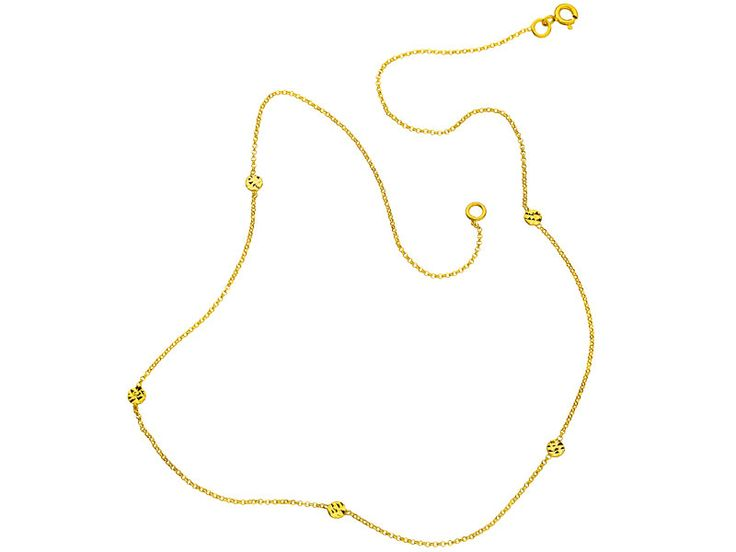 Złoty naszyjnik - wzór AP07-614 / Apart