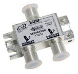 Dish Network 123254 DPP Separator by Dish Network. $5.50. For Dish Network receivers! Must use a DPP Twin LNB or DPP44 switch in combination with this item. The DP Separator will not work with a standard DISH Pro Twin or Legacy LNB. When used with a DPP Twin or DPP44 the separator enables you to run 1 cable into the home and feed dual tuner DISH Pro Receivers (322, 522, 612, 622, 625, 721, 722, 921 and 942) making installations a snap.