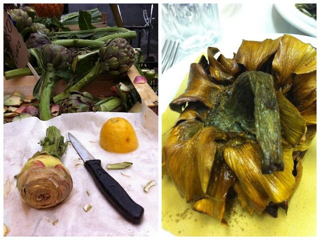 Elizabeth Minchilli in Rome: artichoke indulgence