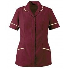 Zip Fronted Housekeeping Tunic - 34 colours