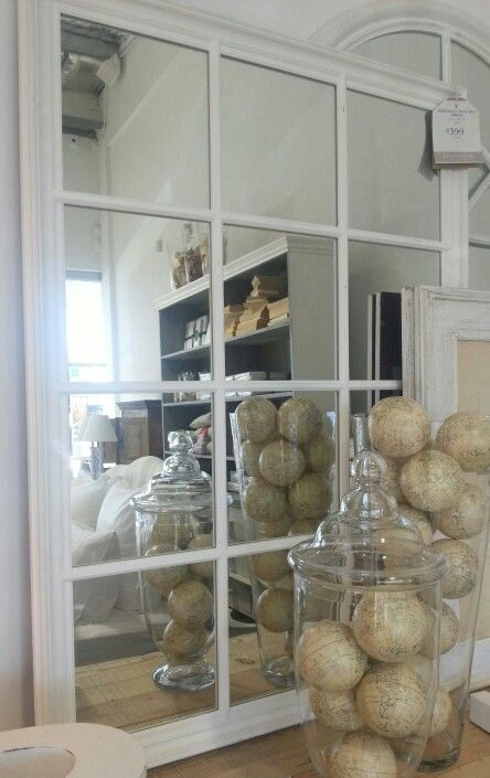 KITCHEN | Provincial Home Living | Mirror For Wall Opposite Kitchen