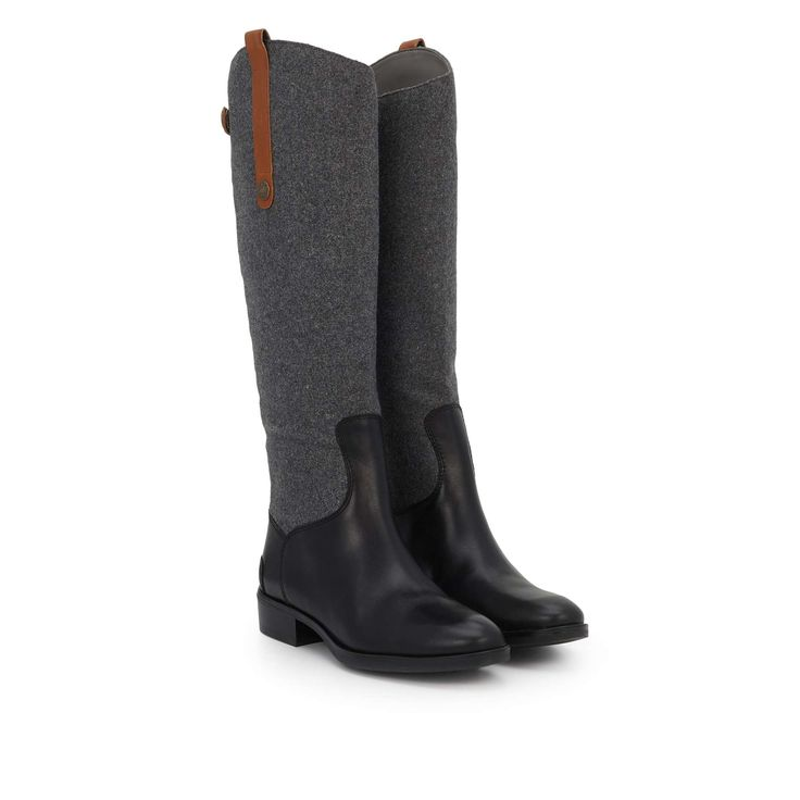 Penny Leather Riding Boot by Sam Edelman - - View 1