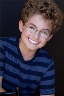 Sean Giambrone -- this kid plays Adam Goldberg on 'The Goldbergs' and he is so good, the real reason I tune into the show. Well, that and all the 80s references. haha