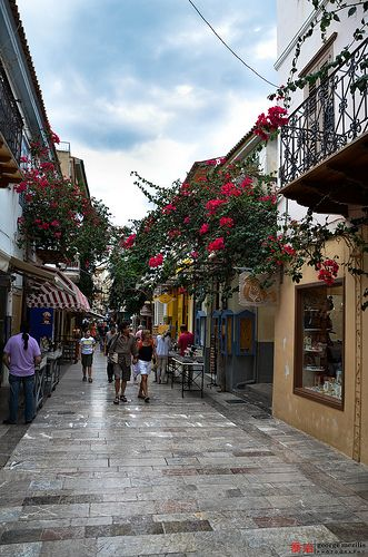 Nafplio , Greece. So fun going to all the shops  exploring there.