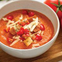 Recette de crème de tomate et cheddar du dernier livre Zéro diète 2 Mioum!!