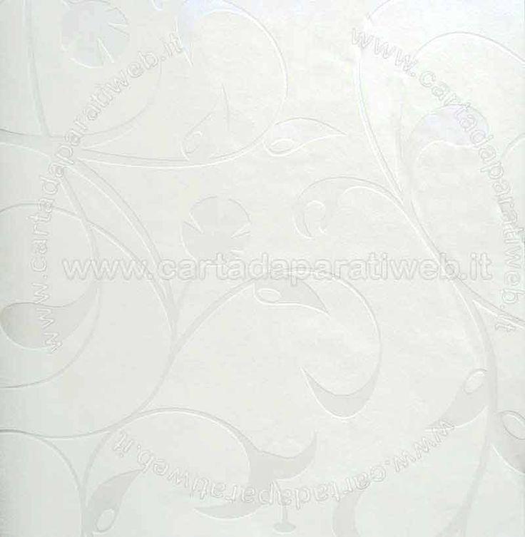 Black e white Vinilico espanso a rilievo su TNT, si consiglia di applicare con colla per TNT o multiuso (disponibile in accessori) codice: 5671-16