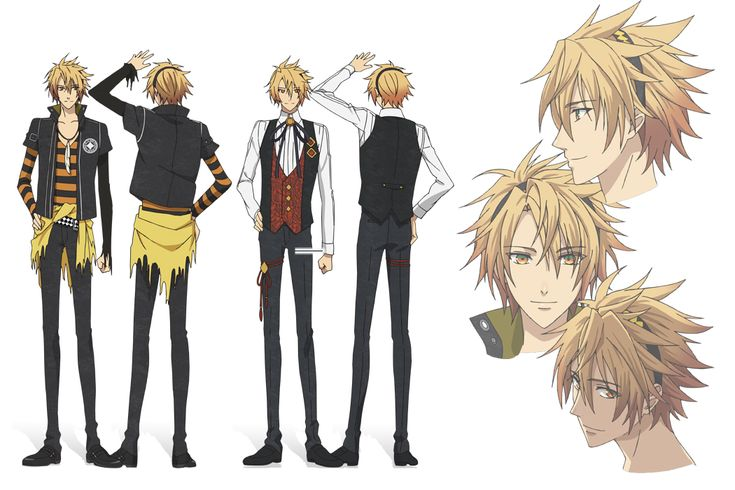 Anime Character Design Tropes : Latest  amnesia shin pinterest search and