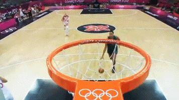 Liz Cambage basketball animated GIF