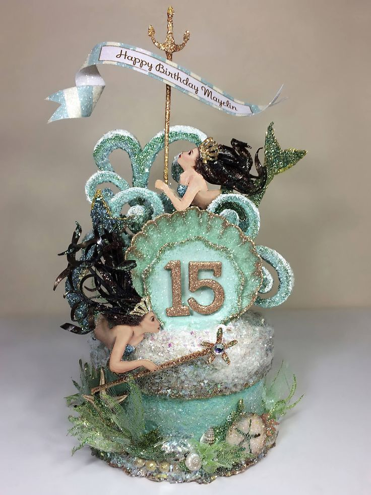 quinceanera cake topper best 20 mermaid birthday cakes ideas on no 6935