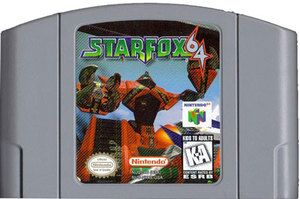 Star Fox 64 - N64 Game