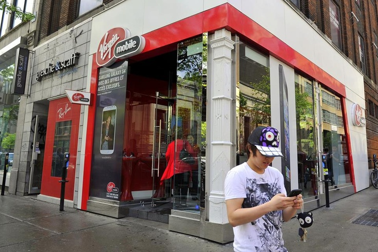 The Virgin Mobile flagship store is two floors of Virgin awesomeness. Have you checked out the space?