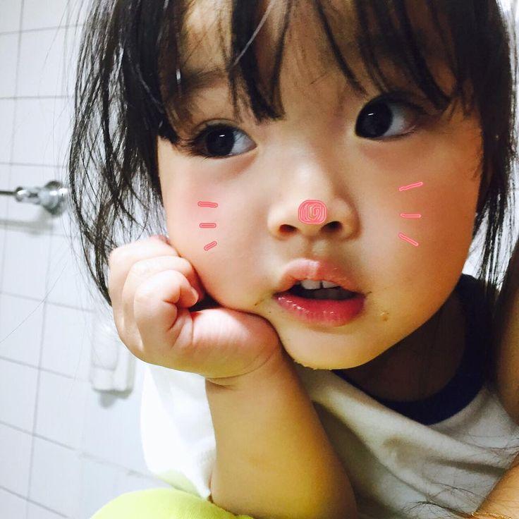 Cute Korean baby girl