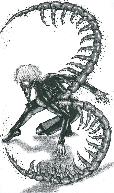 Kaneki Ken_Centipede by Slenderhand || Tokyo Ghoul Follow me on Facebook @ Facebook.com/Kentipede