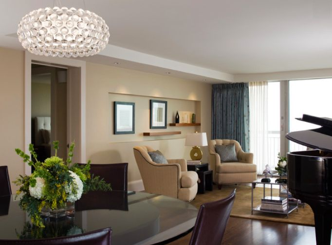 INFURN :: Add a touch a glamour to your living room