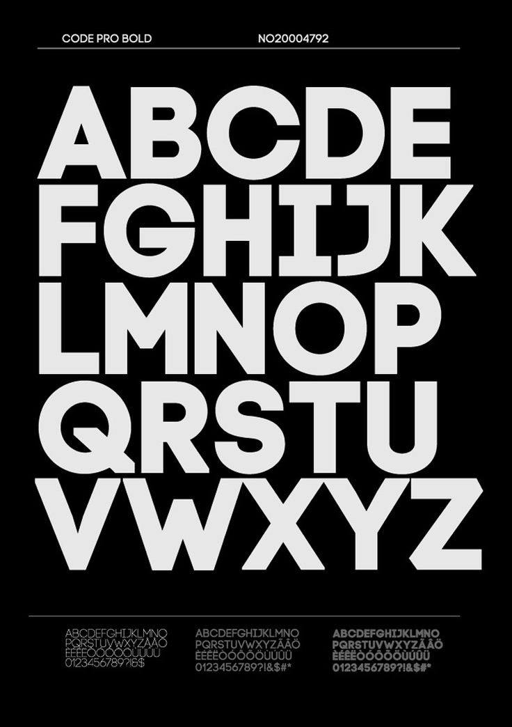Code Pro, una sans serif inspirada en la Avant Garde