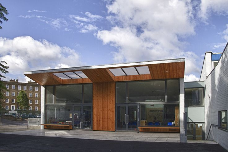 steel structure with timber canopy http://cbarchitects.co.uk