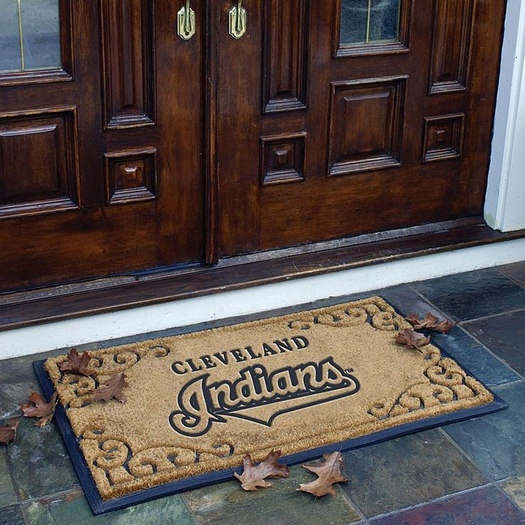 MEMORY Company Team Door Mat - Cleveland Indians - MLB