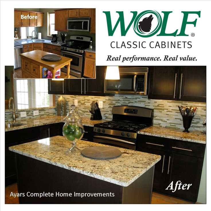 Beautiful Renovation Job By Ayars Construction Featuring WOLF Classic  Cabinets In Dartmouth